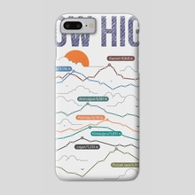 how high - Phone Case by MUSTAFA AKGUL