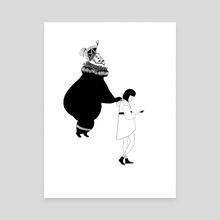 Following - Canvas by Chioma Ebinama