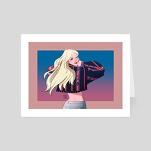 girl front jinsoul - Art Card by Tiny @tnytrr
