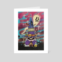 TRANSIENT MAGICIAN - Art Card by Jimmy Knives