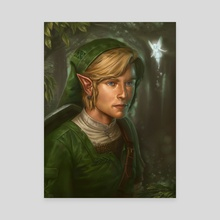 Link - Canvas by Dudu Torres
