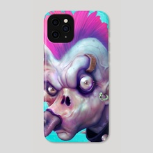 ZEDHEADZ - EarWorm - Phone Case by Sal Cloak