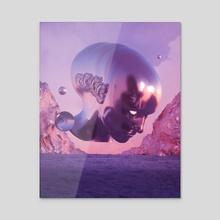 Trance - Acrylic by aeforia