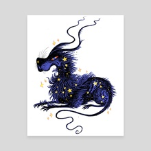 Starry Gelert - Canvas by Holly L