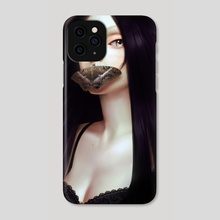 The Truth Can't Save You Now - Phone Case by Renee Chio