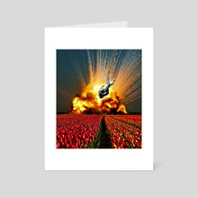 Tulip Apocalypse - Art Card by Anthony Knott