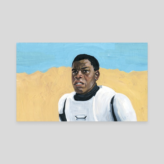 John Boyega  Star Wars: Episode VII   by Jesse Harp