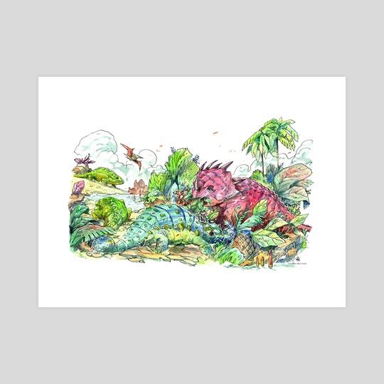 Herbivores Playground by Albertus Tyasseta
