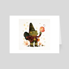 Little wizard - fairy - Art Card by Anthony MOULINS