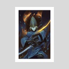 Lord's Blade Ciaran - Art Print by David Hsu Yen