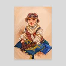 Explorer Wattson - Canvas by Zimtdraws