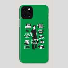 Scott McCall Teen Wolf Quotes - Phone Case by Alicja Wieckowska