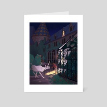 The Princess and the Unicorn - Art Card by Molly  Stanard