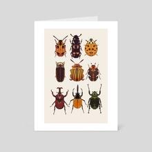 Bugs Gallore - Art Card by zombiemongai