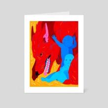 Mater - Art Card by Flora Kirk