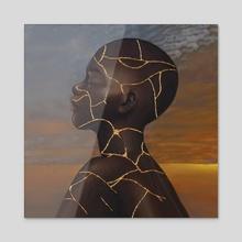 TO NEW BEGINNINGS - Acrylic by KÉHÌNDÉ