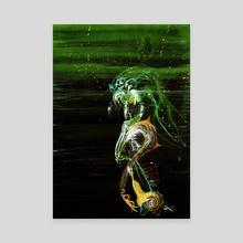 WDVMM - 0065 - Iris - Canvas by Wetdryvac WDV