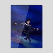 Dance like a student - Acrylic by Lubove Nazarova