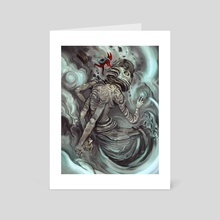 Tempest Lord Wie  - Art Card by Murdok X