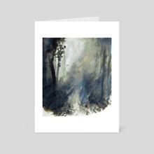 Inicio de un fuego - Art Card by Paloma Zamorano