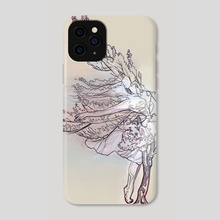 Dancer tree overlay - Phone Case by Pablo Puentes