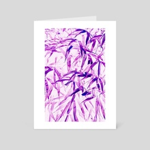 Ultra Violet - Art Card by 83 Oranges
