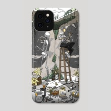 Hidden Place, Open Space - Phone Case by Kiv Bui