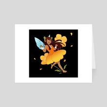 Golden Poppy - Art Card by Mari Ghoul