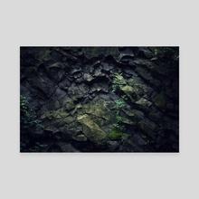 Green - Canvas by Tóth Zoltán