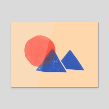 Sunrise - Acrylic by Dairy James