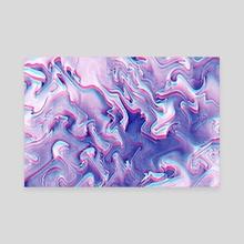 Outrun Vapor - Canvas by Andi GreyScale