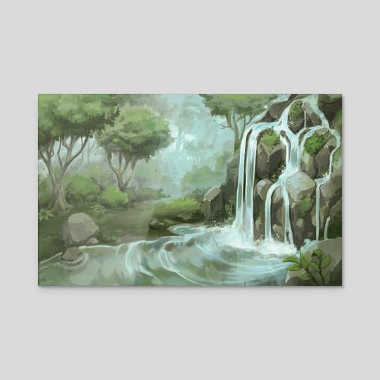 Waterfall by Amy Gerardy