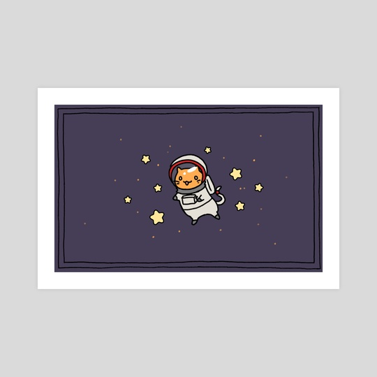 Cat in Space by Amy Gerardy