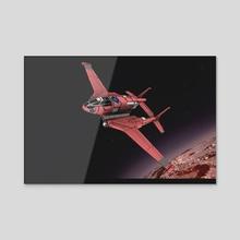 Spaceplane 2 - Acrylic by 3DASP