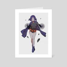 raven - Art Card by Yueko