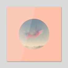 Moon 2 - Acrylic by Joseph Patton