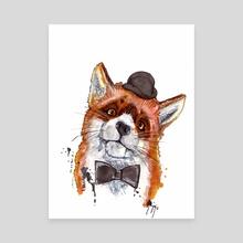 Mr Fox - Canvas by Gareth Penney