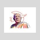 Pablo Picasso - Art Print by Pablo Correa