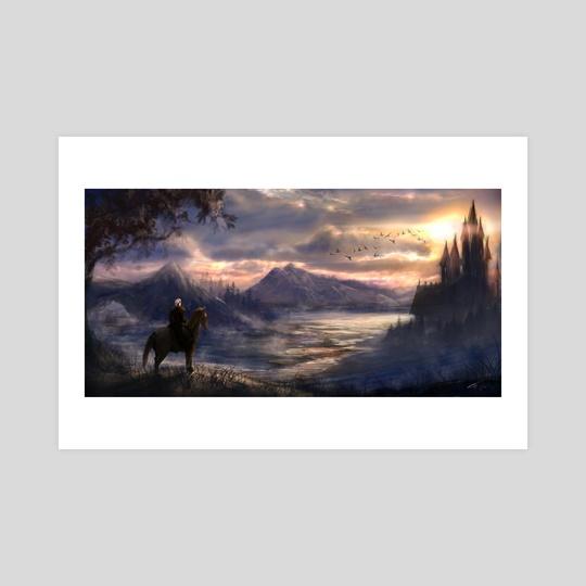 Witcher by Tatiana Hordiienko