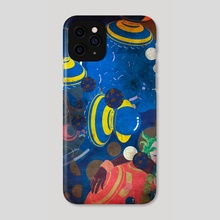monkey t - Phone Case by wudufu