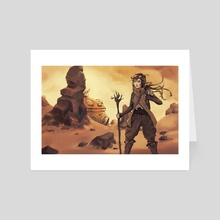 Desert Base - Art Card by Amy Gerardy