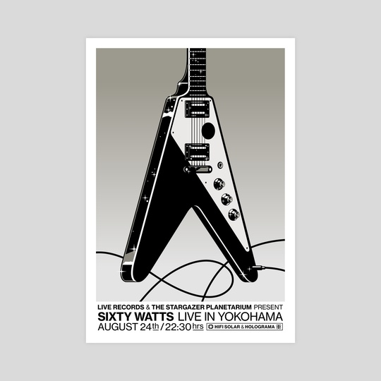 Sixty Watts - Live In Yokohama by Gianmarco Magnani