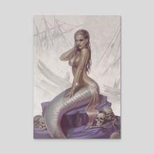 Siren - Acrylic by Yasu Matsuoka