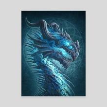 Undead Dragon - Canvas by Kerem Beyit