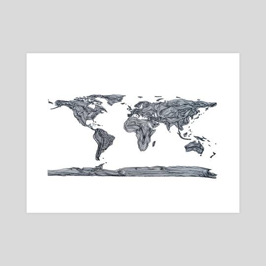 Mapa Mundi by Joana Lourenço