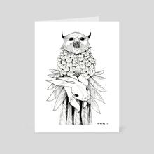 Bezoar - Art Card by Kate Glasheen