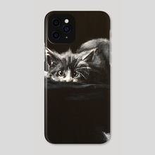 CAT 4 PIANO COMPOSITION - Phone Case by Agata Buczek