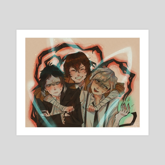 [Bungou Stray Dogs] Chaotic Trio by Jazlyn