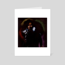 Chaka Khan - Art Card by Ashanti Khan