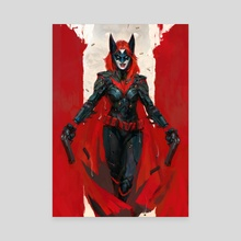 Batwoman - Canvas by Daniel Kamarudin